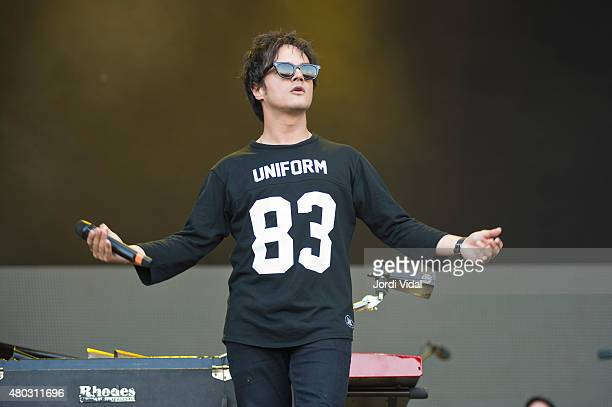 Jamie Cullum performs on stage during the first day of Cruilla Festival at Parc Del Forum on July 10 2015 in Barcelona Spain
