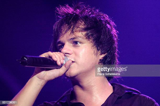Jamie Cullum vocals and piano performs at the North Sea Jazz Festival on July 9th 2005 in Amsterdam Netherlands