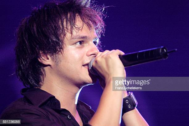 Jamie Cullum, vocals and piano, performs at the North Sea Jazz Festival on July 9th 2005 in Amsterdam, Netherlands.