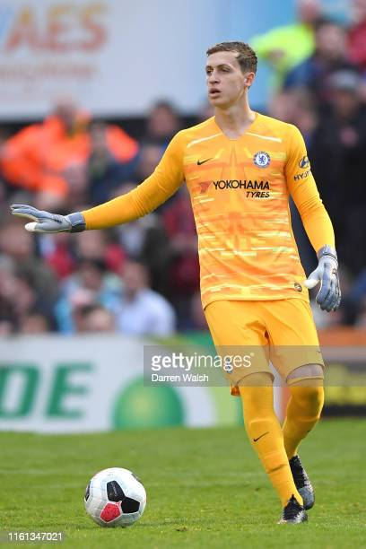 Jamie Cumming of Chelsea gives his team instructions during the PreSeason Friendly match between Bohemians FC and Chelsea FC at Dalymount Park on...