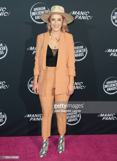 Jamie Dana attends the 2nd Annual American Influencer Awards at Dolby Theatre on November 18 2019 in Hollywood California