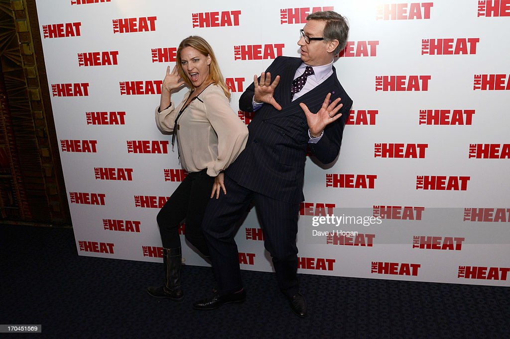 Jamie Denbo and Paul Feig attend a gala screening of 'The Heat' at The Curzon Mayfair on June 13, 2013 in London, England.