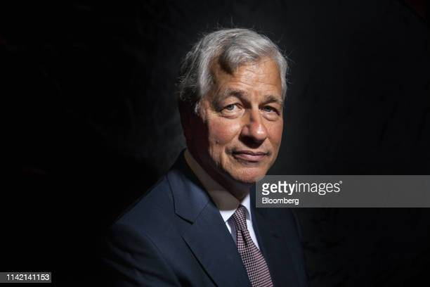 Jamie Dimon chief executive officer of JPMorgan Chase Co poses for a photograph on the sidelines of the JP Morgan Global China Summit in Beijing...