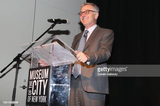 Jamie Dinan attends Museum Of The City Of New York Louis Auchincloss Prize Gala at Museum of the City of New York on November 14 2018 in New York City