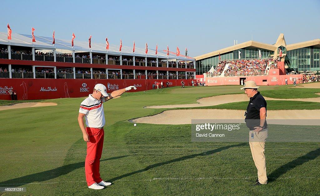 Abu Dhabi HSBC Golf Championship - Day Two : ニュース写真