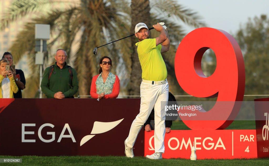 Omega Dubai Desert Classic - Day One : News Photo