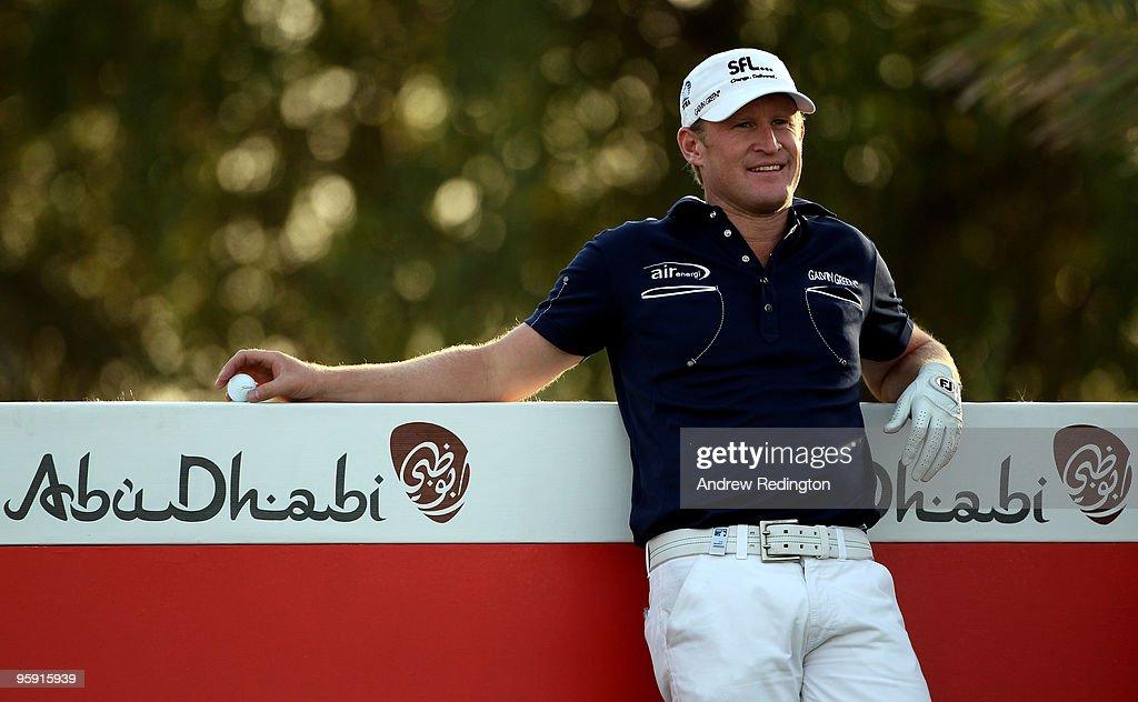 Abu Dhabi Golf Championship - Round One