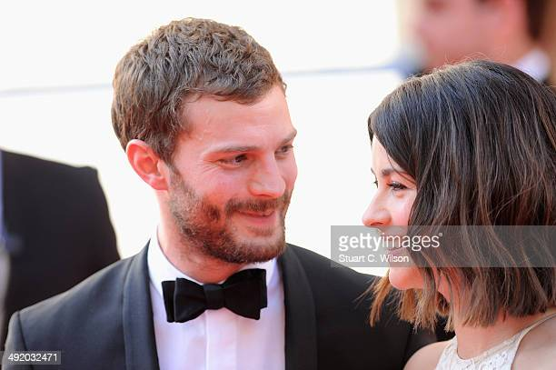 Jamie Dornan and Amelia Warner attend the Arqiva British Academy Television Awards at Theatre Royal on May 18 2014 in London England