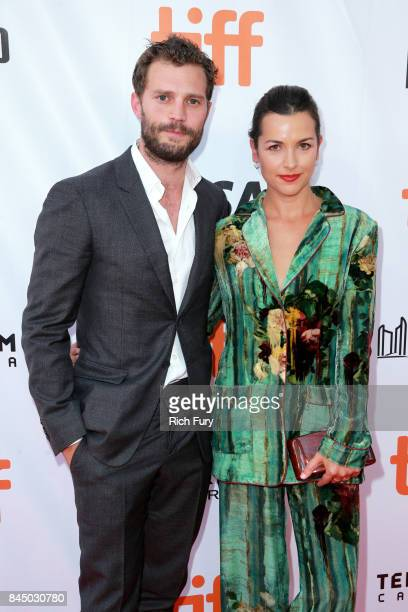 Jamie Dornan and Amelia Warner attend the Mary Shelley premiere during the 2017 Toronto International Film Festival at Roy Thomson Hall on September...