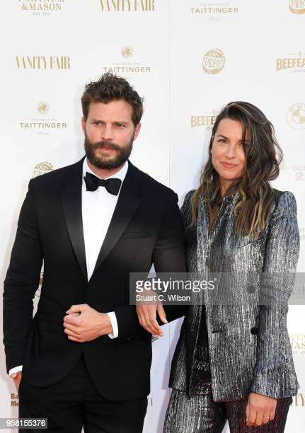 Jamie Dornan and Amelia Warner attend The Old Vic Bicentenary Ball at The Old Vic Theatre on May 13 2018 in London England