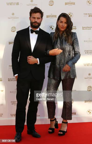 Jamie Dornan and Amelia Warner attend The Old Vic Bicentenary Ball to celebrate the theatre's 200th birthday at The Old Vic Theatre on May 13 2018 in...