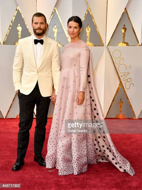 Jamie Dornan and Amelia Warner attends the 89th Annual Academy Awards at Hollywood Highland Center on February 26 2017 in Hollywood California