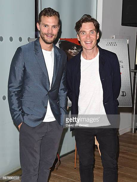 Jamie Dornan and Cillian Murphy attend the UK Premiere of 'Anthropoid' at the BFI Southbank on August 30 2016 in London England