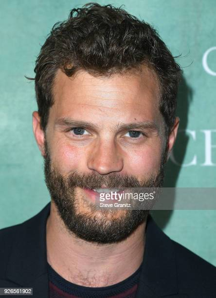 Jamie Dornan arrives at the 11th Annual Celebration Of The 2018 Female Oscar Nominees Presented By Women In Film at Crustacean on March 2 2018 in...
