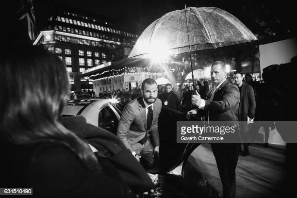 Jamie Dornan arrives at the UK premiere of 'Fifty Shades Darker' at Odeon Leicester Square on February 9 2017 in London England