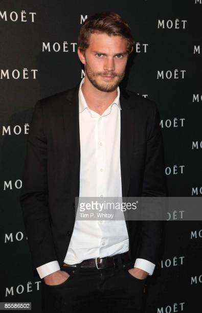 Jamie Dornan arrives for the Moet and Chandon A Tribute to Cinema party at Big Sky Studios on March 24 2009 in London England