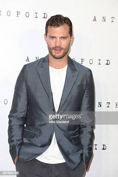 Jamie Dornan arrives for the UK Film premiere of Anthropoid at BFI Southbank on August 30 2016 in London England