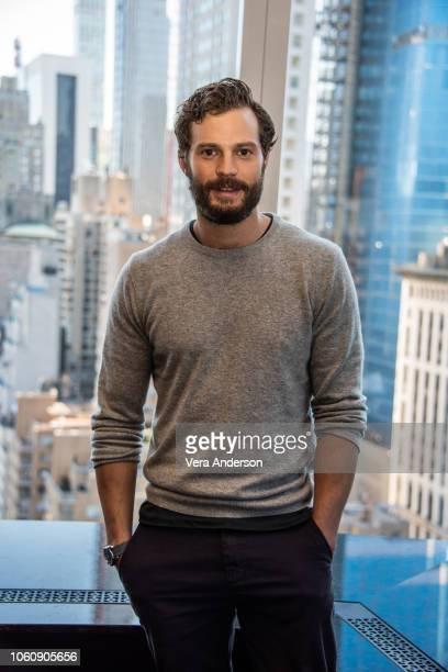 Jamie Dornan at the Robin Hood Press Conference at the Mandarin Oriental Hotel on November 11 2018 in New York City