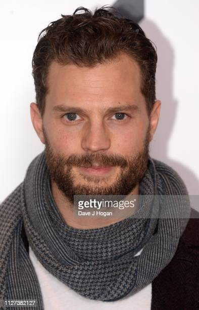 Jamie Dornan attends a QA screening of A Private War at Odeon Leicester Square on February 04 2019 in London England