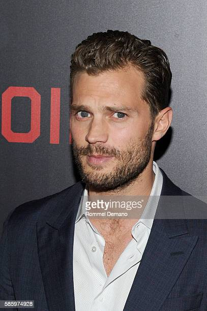 Jamie Dornan attends 'Anthropoid' New York Premiere at AMC Lincoln Square Theater on August 4 2016 in New York City