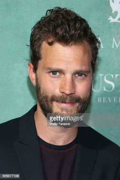 Jamie Dornan attends the 11th annual celebration of the 2018 Female Oscar nominees presented by Women in Film at Crustacean on March 2, 2018 in...