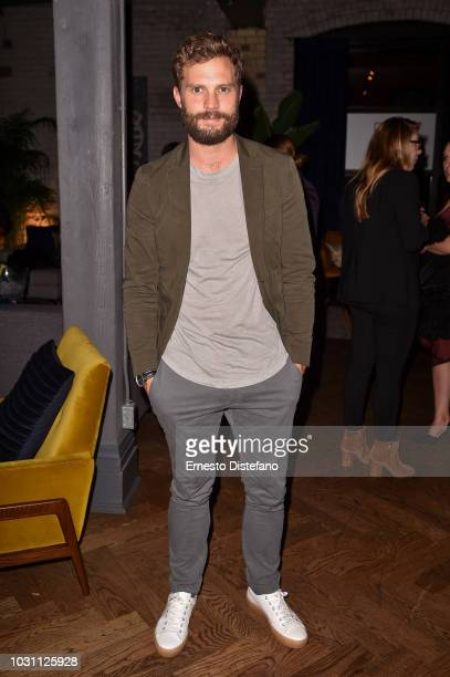 Jamie Dornan attends the A Million Little Pieces Cocktail Party hosted by RBC during 2018 Toronto International Film Festival at RBC House on...