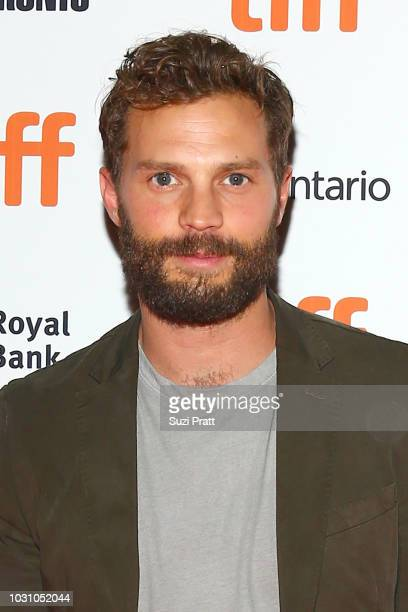 Jamie Dornan attends the 'A Million Little Pieces' premiere during 2018 Toronto International Film Festival at Ryerson Theatre on September 10 2018...