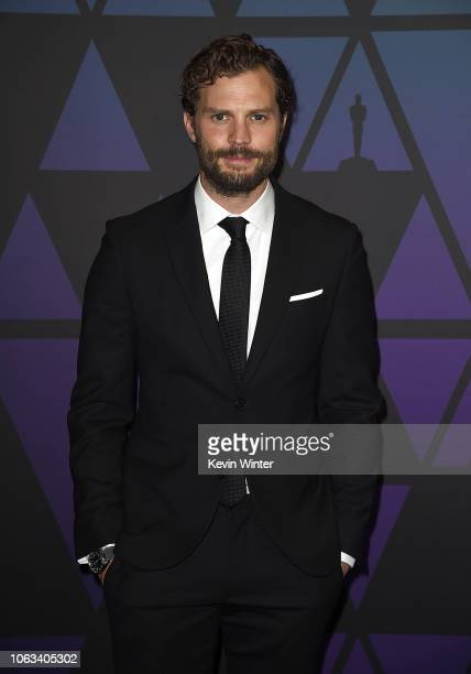 Jamie Dornan attends the Academy of Motion Picture Arts and Sciences' 10th annual Governors Awards at The Ray Dolby Ballroom at Hollywood Highland...
