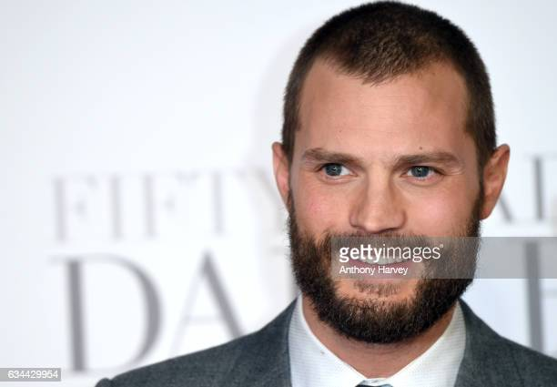 Jamie Dornan attends the 'Fifty Shades Darker' UK Premiere on February 9 2017 in London United Kingdom