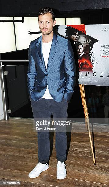 Jamie Dornan attends the UK premiere of 'Anthropoid' at BFI Southbank on August 30 2016 in London England