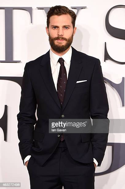 Jamie Dornan attends the UK Premiere of 'Fifty Shades Of Grey' at Odeon Leicester Square on February 12 2015 in London England