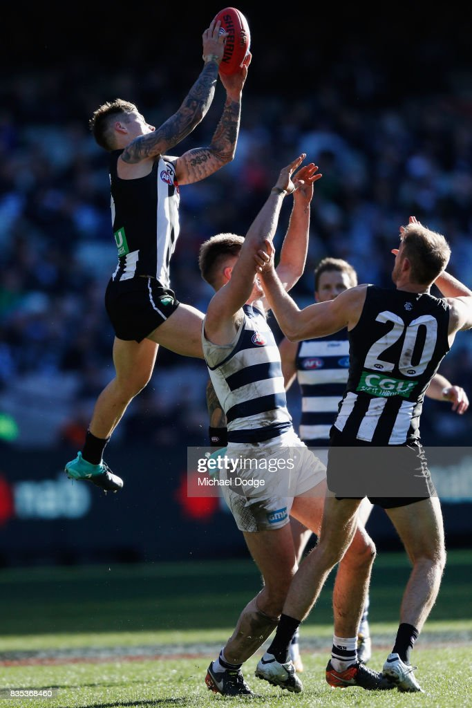 AFL Rd 22 - Collingwood v Geelong