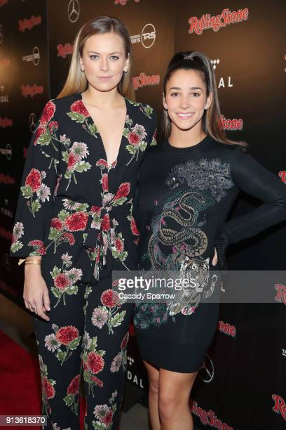 Jamie Erdahl and Aly Raisman at Rolling Stone Live Minneapolis presented by MercedesBenz and TIDAL Produced in partnership with Talent Resources...
