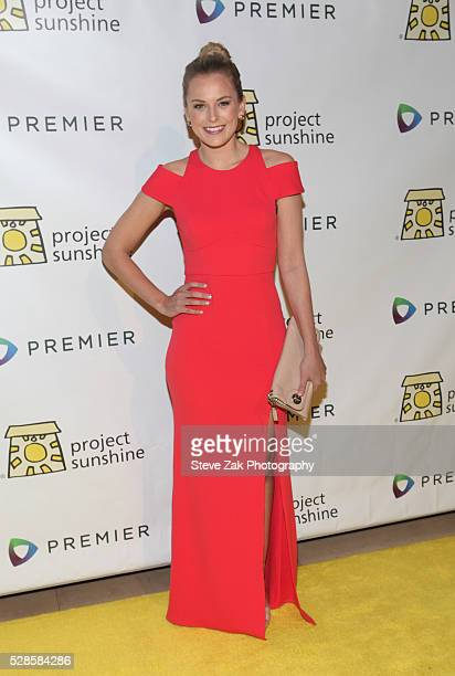Jamie Erdahl attends Project Sunshine's 13th annual benefit celebration at Cipriani 42nd Street on May 5 2016 in New York City