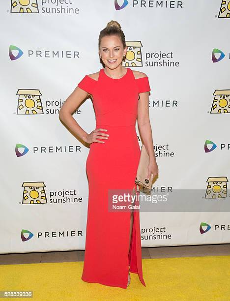 Jamie Erdahl attends Project Sunshine's 13th annual benefit celebration on May 05 2016 in New York New York