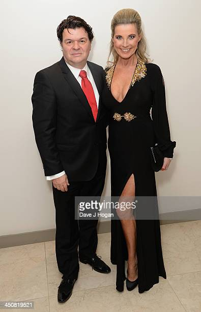 Jamie Foreman with his wife Julie Dennis attend the Amy Winehouse Foundation Ball at the Dorchester Hotel on November 20 2013 in London England