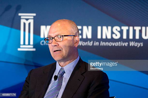 Jamie Forese copresident of Citigroup Inc and head of the institutional clients group speaks at the Milken Institute Asia Summit in Singapore on...