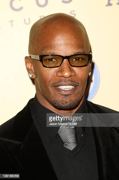 """Jamie Fox arrives to the Focus Features """"Atonement"""" Premiere at the Academy of Motion Pictures in Los Angeles, California on December 6, 2007."""