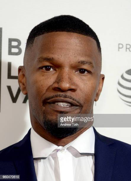 Jamie Fox attends Storytellers Jamie Fox during the 2018 Tribeca Film Festival at BMCC Tribeca PAC on April 23 2018 in New York City