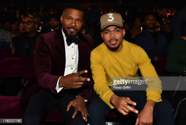 Jamie Foxx and Chance The Rapper attend 2019 Urban One Honors at MGM National Harbor on December 05 2019 in Oxon Hill Maryland
