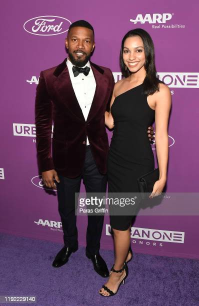 Jamie Foxx and Corinne Foxx attend 2019 Urban One Honors at MGM National Harbor on December 05, 2019 in Oxon Hill, Maryland.