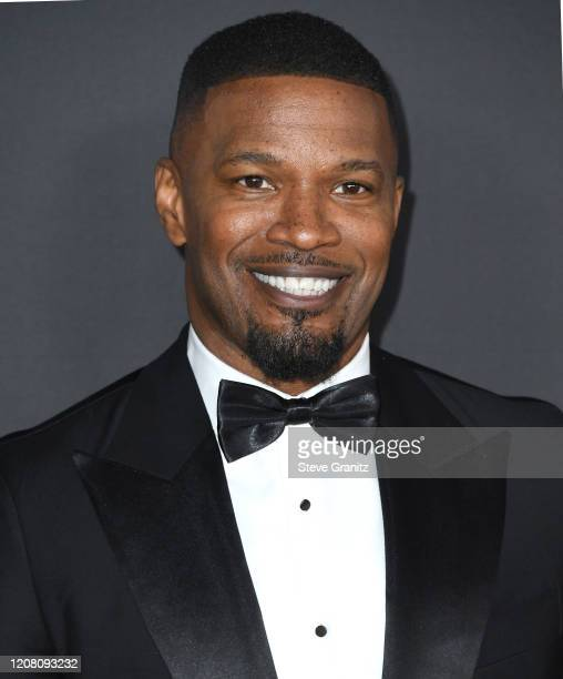 Jamie Foxx arrives at the 51st NAACP Image Awards on February 22, 2020 in Pasadena, California.