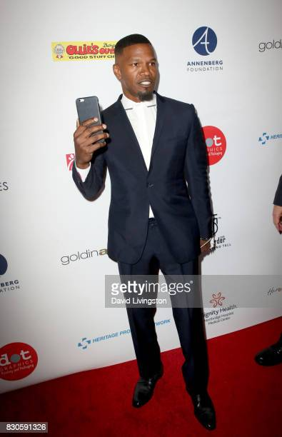 Jamie Foxx at the 17th Annual Harold Carole Pump Foundation Gala at The Beverly Hilton Hotel on August 11 2017 in Beverly Hills California