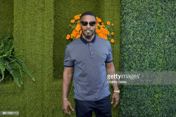 Jamie Foxx at the Eighth Annual Veuve Clicquot Polo Classic on October 14 2017 in Los Angeles California