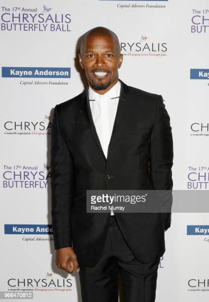 Jamie Foxx attended the 17th Annual Chrysalis Butterfly Ball in Los Angeles CA on June 2 2018