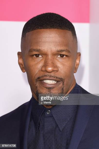 Jamie Foxx attends 2017 American Music Awards at Microsoft Theater on November 19 2017 in Los Angeles California