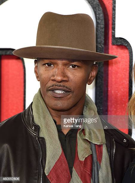 """Jamie Foxx attends a photocall for """"Annie"""" at Corinthia Hotel London on December 16, 2014 in London, England."""