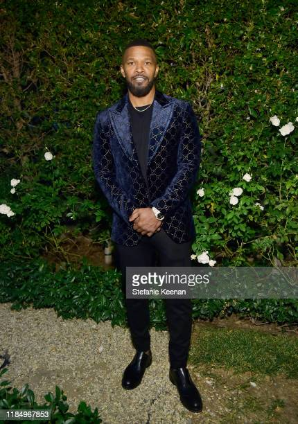 Jamie Foxx attends A Sense Of Home's First Ever Annual Gala - The Backyard Bowl at a Private Residence on November 01, 2019 in Beverly Hills,...