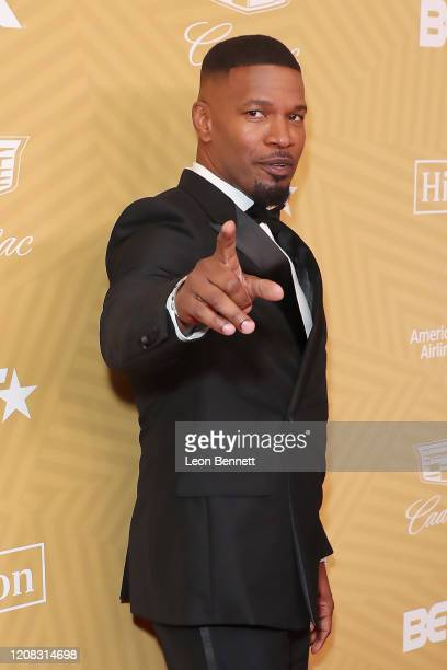 Jamie Foxx attends American Black Film Festival Honors Awards Ceremony at The Beverly Hilton Hotel on February 23, 2020 in Beverly Hills, California.