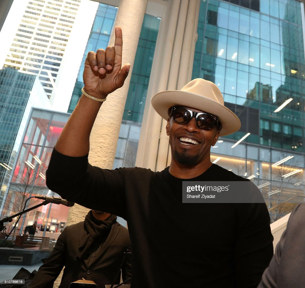 Jamie Foxx In-Store Shopping Event